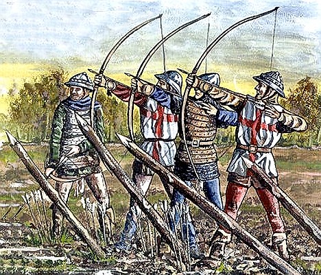 Archers, deciders of the battle