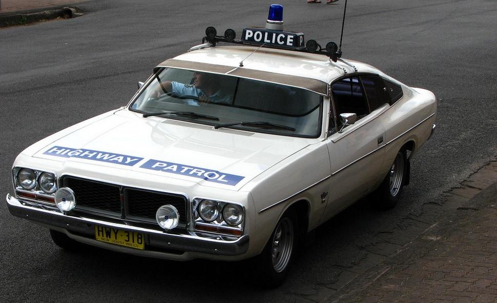 Australian HighWay police